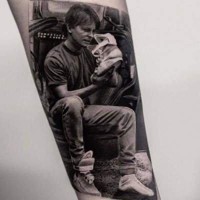 Захоплюючі татуювання з постерами і кадрами з фільмів. Фото