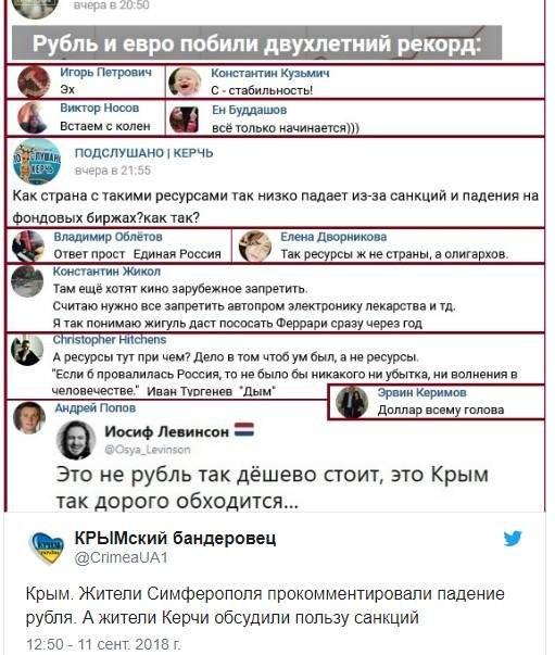 В Мережі посміялись над рекордним обвалом рубля