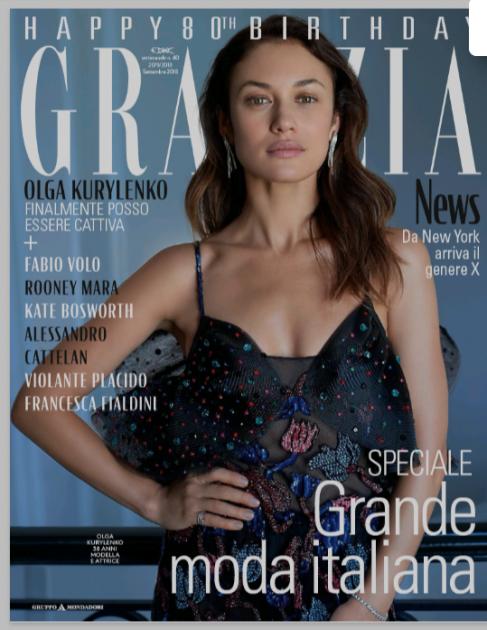 Ольга Куриленко стала зіркою італійського видання. Фото