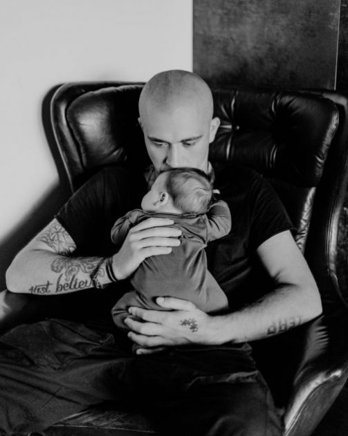 Чоловік Шоптенко показав маленького сина