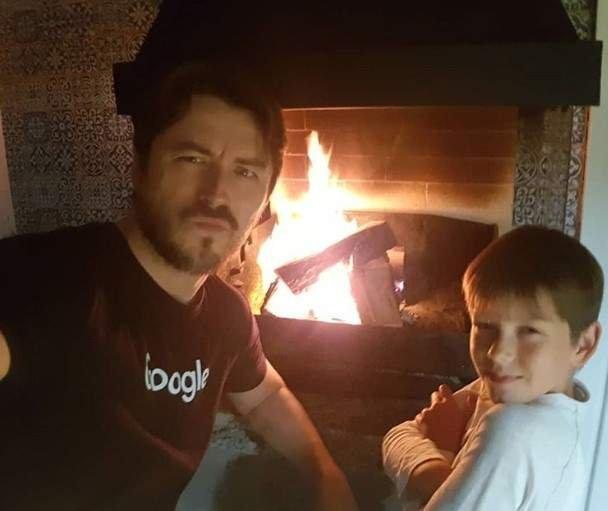 Сергій Притула похвалився фотографією зі своїм сином