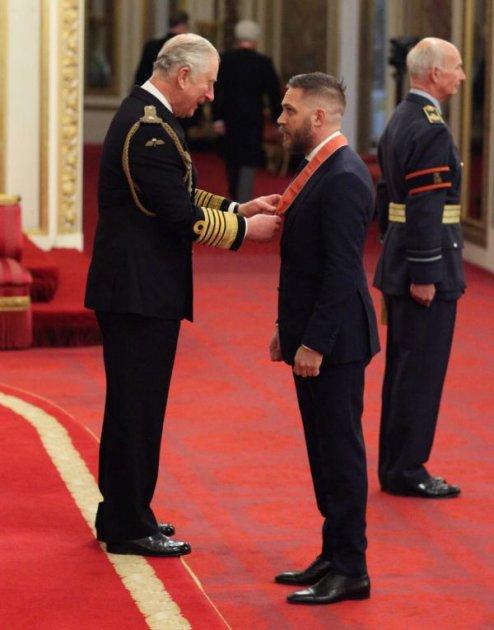 Том Харді удостоївся високого звання
