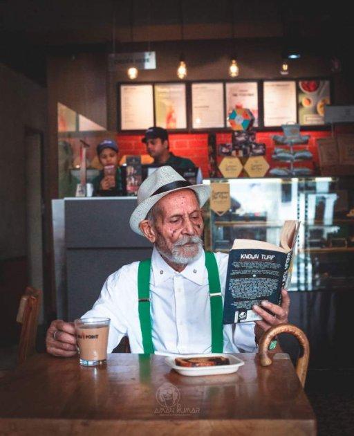 98-річний хіпстер з Індії заряджає своїм позитивом. Фото