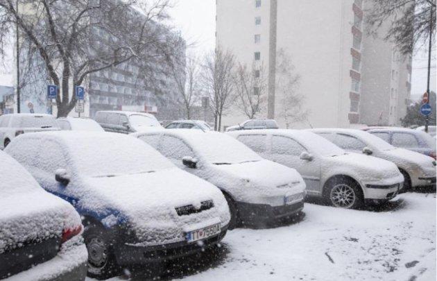 Словаччину завалило снігом. Фото