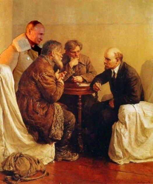 Как Владимир Путин в очередной раз стал героем мема