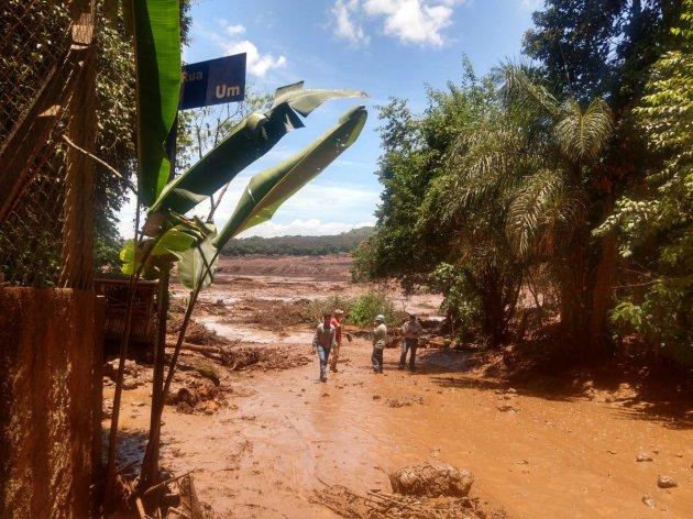 У Бразилії прорвало греблю, є загиблі. Фото
