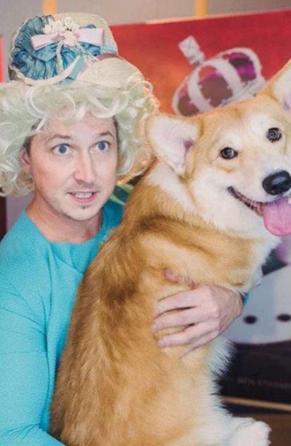 Королівський пес заговорив голосом відомого українського ведучого