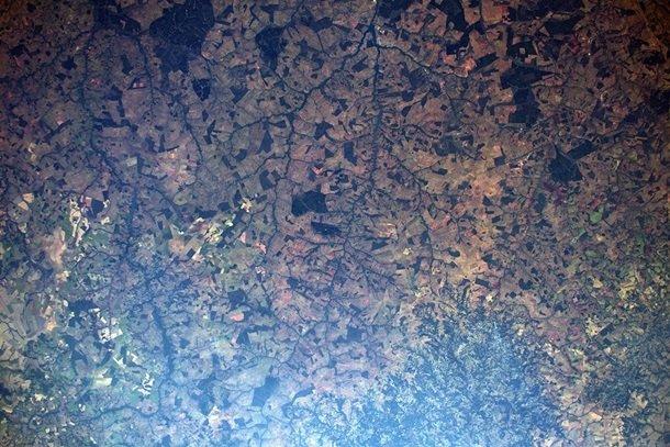 Пожежі в Бразилії: вражаючий вигляд з космосу. Фото