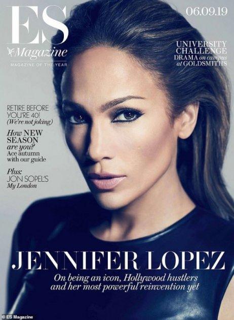 Дженніфер Лопес розповіла про свою старість