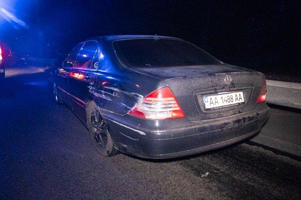 У Києві на Брест-Литовському шосе шість автомобілів влаштували три ДТП