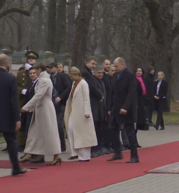 Володимир і Олена Зеленські відвідали Естонію