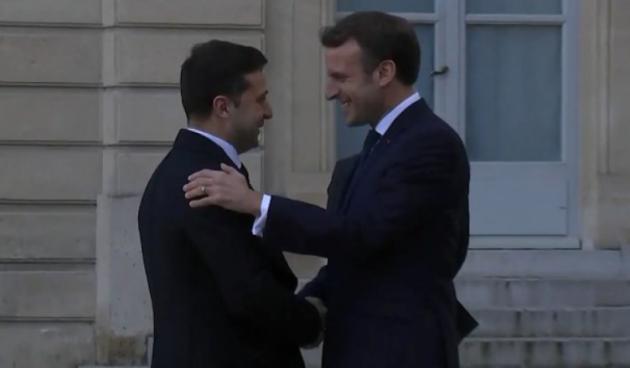 Зеленський прибув на «нормандську» зустріч у Парижі