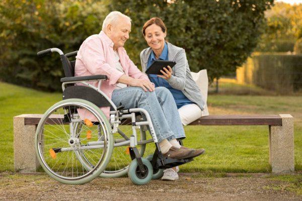 Профессиональный уход за инвалидами