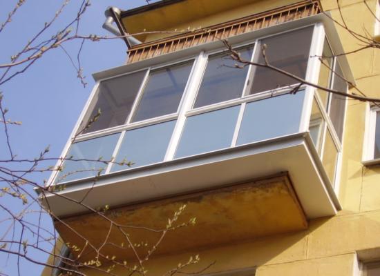 Ремонт балконов по доступным ценам