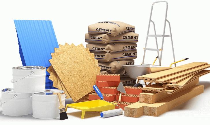 Широкий ассортимент строительных материалов