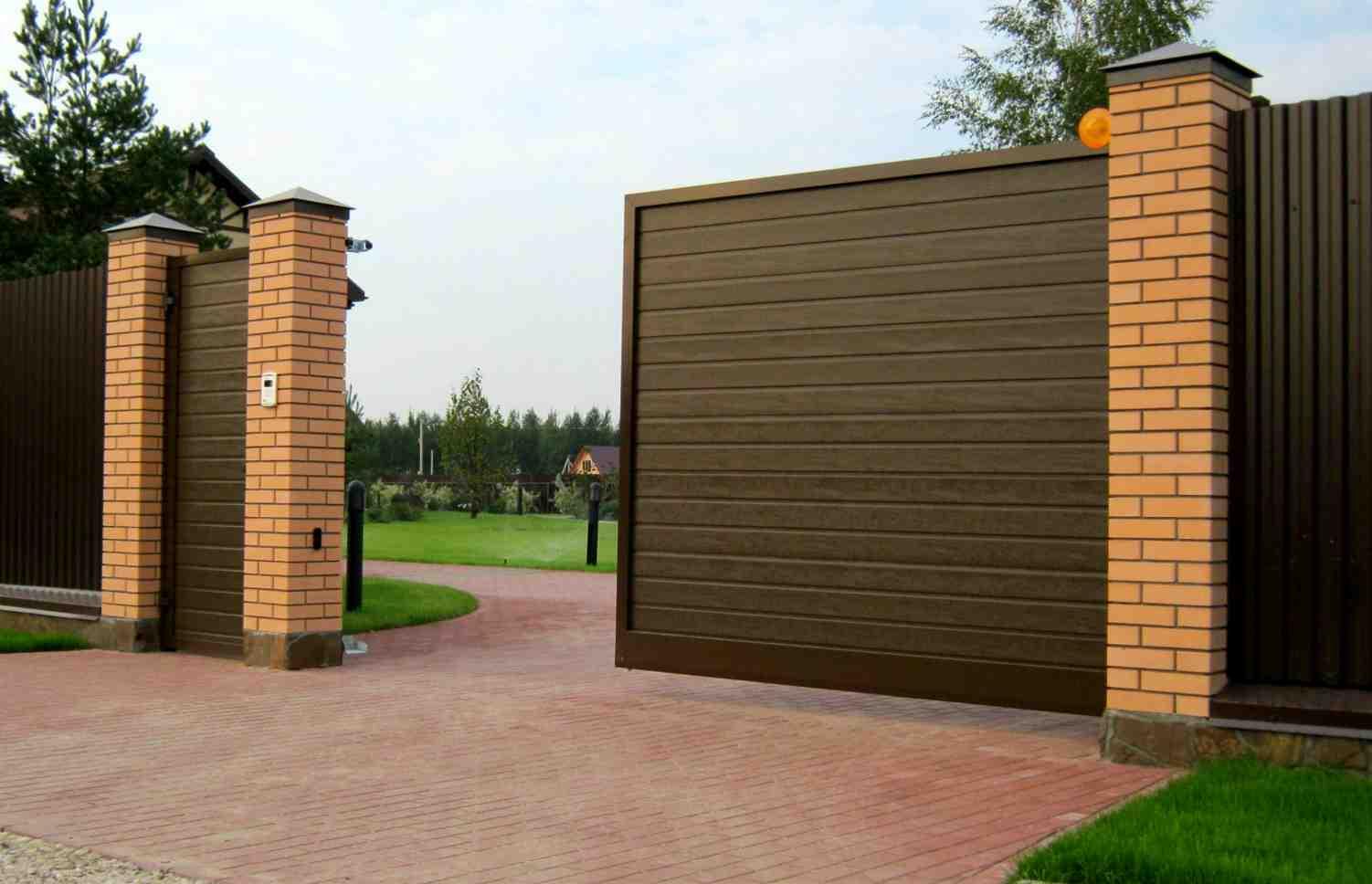 Заказать качественную автоматику откатных ворот в Киеве