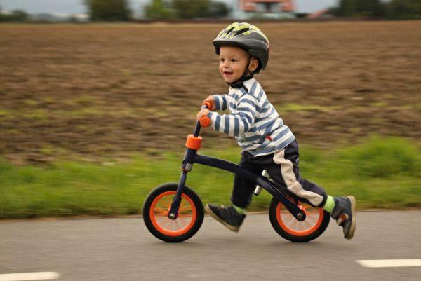 Велобег — польза для ребенка о которой вы не знали