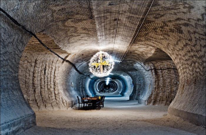 Подземное путешествие на глубину 280 метров