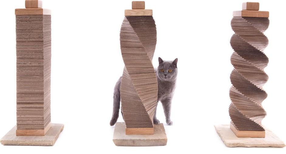 Какие материалы используются при изготовлении когтеточек для котов